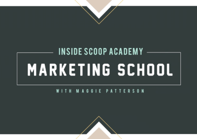 INSIDE SCOOP MARKETING SCHOOL