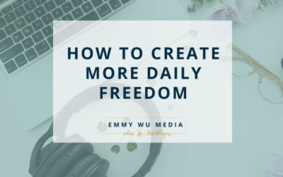 How to Create More Freedom in Your Schedule