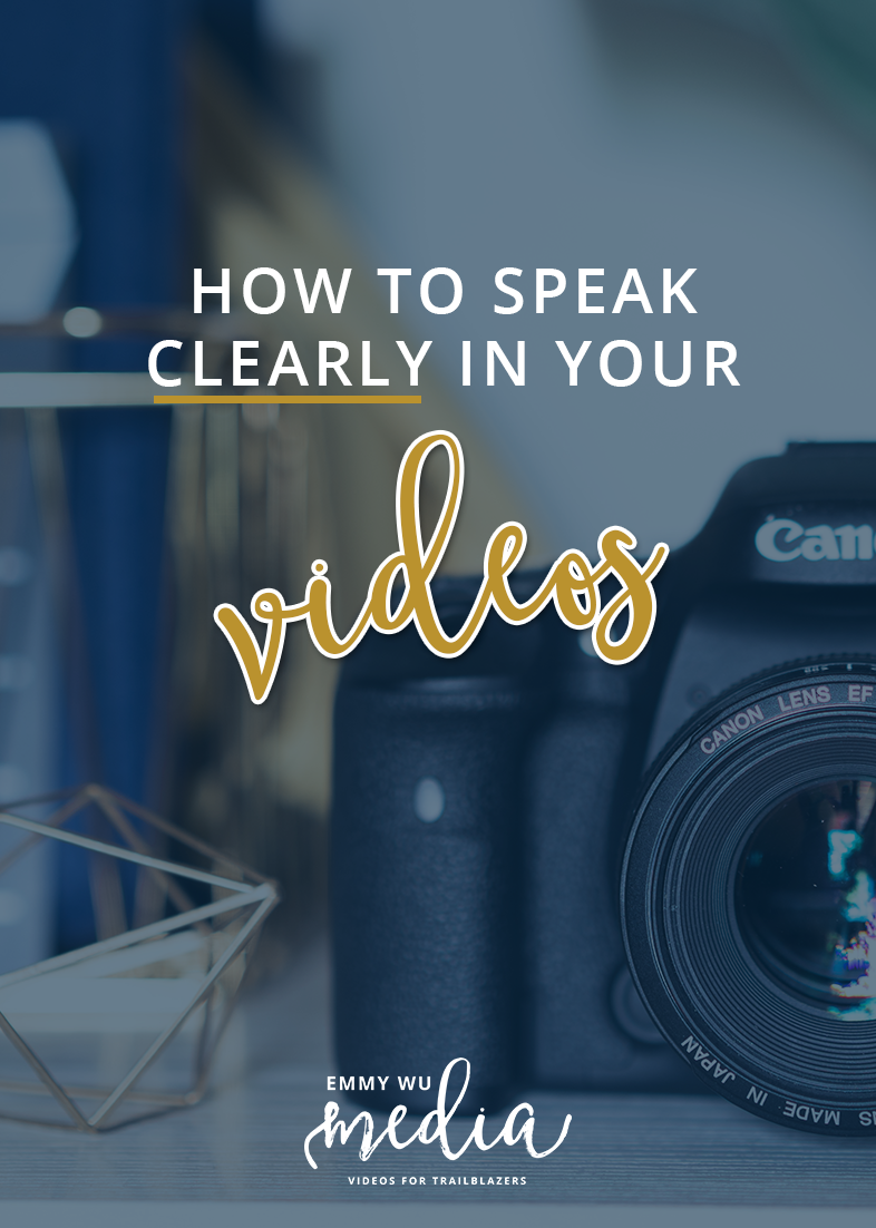 How to Speak Clearly in Your Videos | Emmy Wu Media
