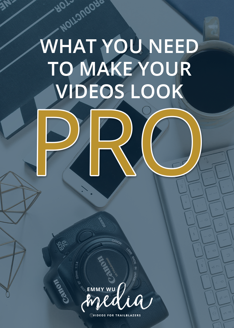 Have you been struggling to make your videos look smart and professional? I've got some tools and resources for taking your videos PRO! Click through to watch!
